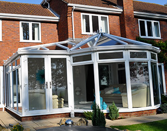 P shaped Conservatories
